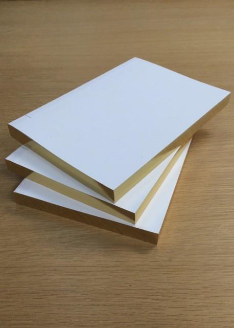 Livre d'or blanc 14,5x21cm (112pages)
