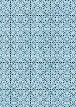 Alcaraz bleu (50x70)
