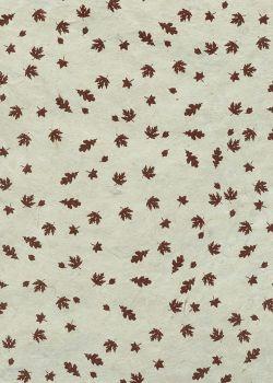 Lokta les feuilles d'automne (50x75)