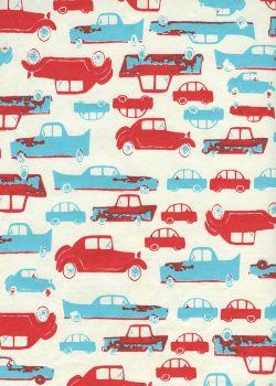 Les défilé de voitures (50x65)