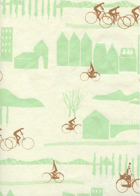 Promenade à bicyclette (50x65)