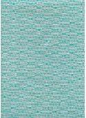 Niagara turquoise fond gris (50x70)