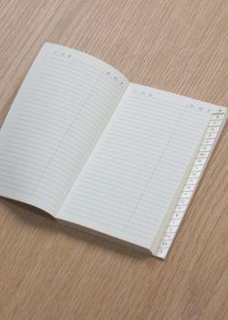 Répertoire 17x24cm (56 pages)
