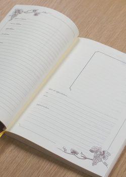 Cahier de cave 17x24cm (80 pages)