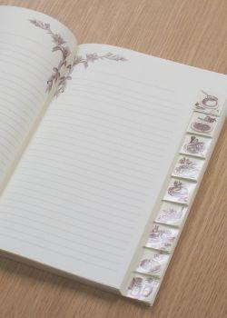 Cahier de cuisine 17x24cm (80 pages)