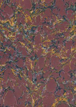 Papier reliure marbré N°01-4 (50x65)