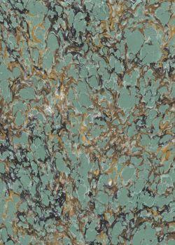 Papier reliure marbré N°02-5 (50x65)