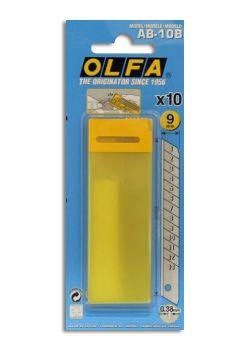 Recharge de 10 lames 9mm sécables pour cutter olfa 180