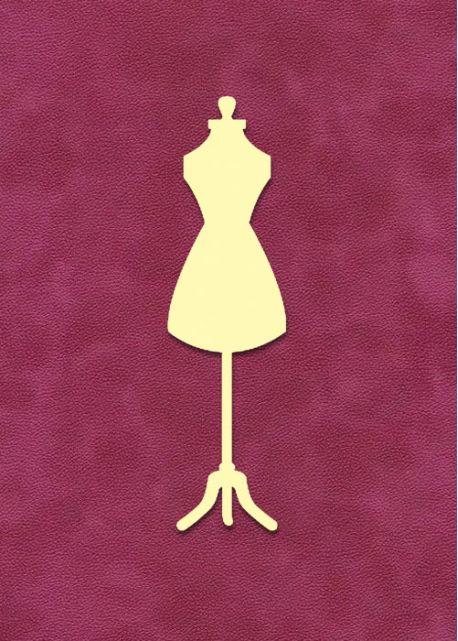 Mannequin de couture à embosser