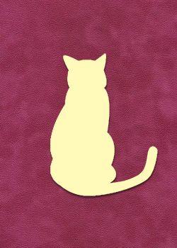 Chat à embosser