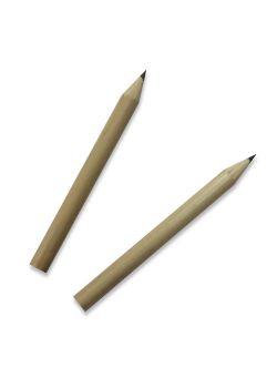 Crayons à papier couleur bois naturel (85mm)