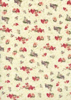 Les petits bouquets en semis (70x100)