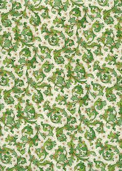 Venise - vert réhaussé or (70x100)