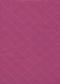 """Simili cuir """"Diamond"""" bois de rose"""