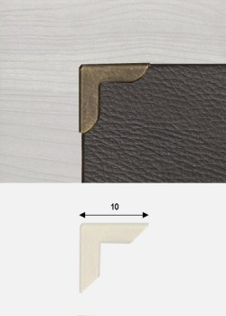 Angles mini bronze (10x10mm)