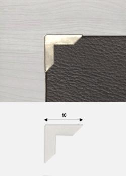 Angles mini argent (10x10mm)