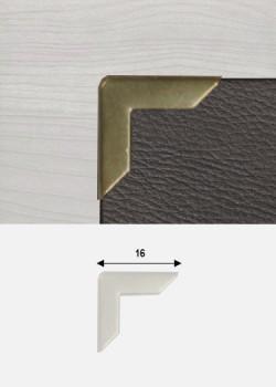 Angles bronze (16x16mm)
