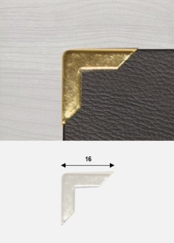 "Angles or ""redorés"" (16x16mm)"