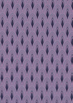 Les plumes de paon roses et bleues (50x70)
