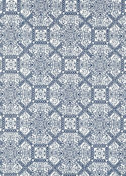 Chatelle bleu marine (50x70)