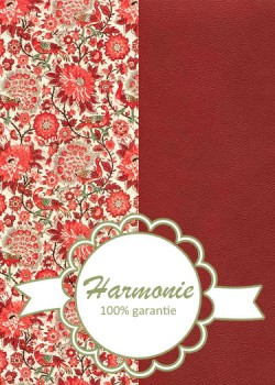 HARMONIE DUO Paons ambiance rouge