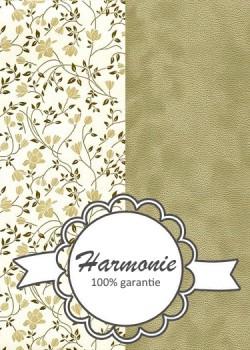 HARMONIE DUO Fleurs beiges