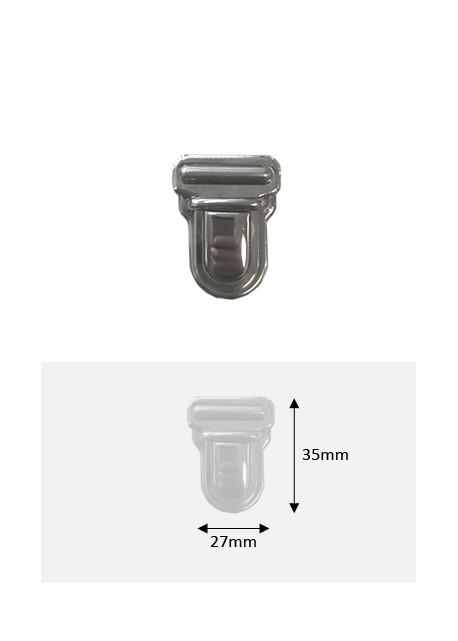 Fermoirs cartable design (27x35) canon de fusil