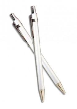 Pointe Bic rétractable chromé (105mm)