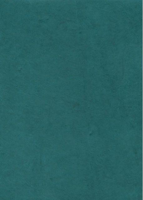 Lokta bleu pétrole (50x75)