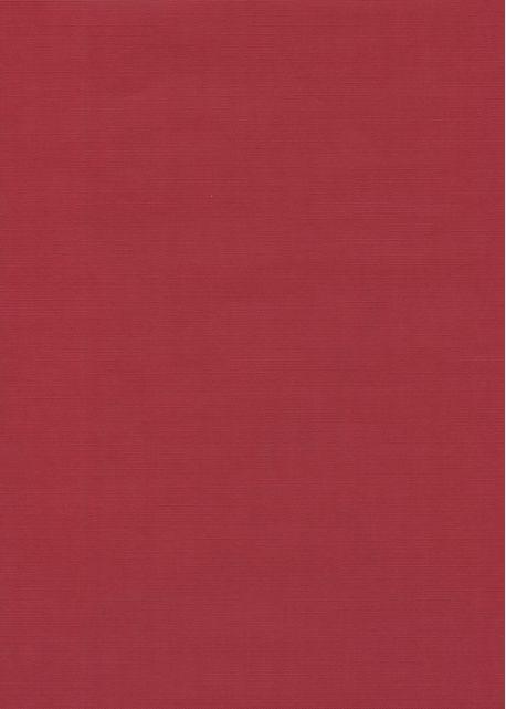 "Effalin ""grain toilé"" rouge franc (70x100)"