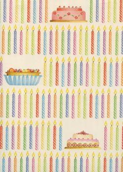Les bougies d''anniversaire (70x100)