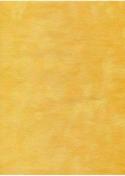 Simili cuir velours Zeste jaune (70x100)