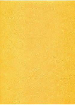 "Simili cuir ""Buffalo"" jaune citron (70x100)"