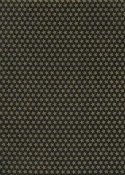 Lokta les étoiles or mat fond noir (50x75)