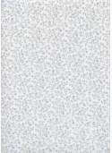 Floral gris pastel (48x100)