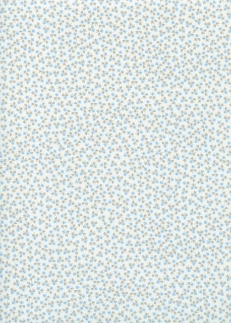 Mini fleurs bleues (48x100)