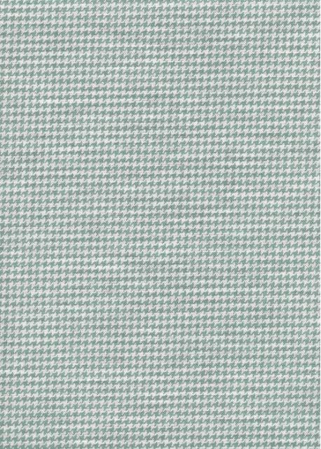 """""""Toile enduite"""" Pied de poule bleu (48x100)"""