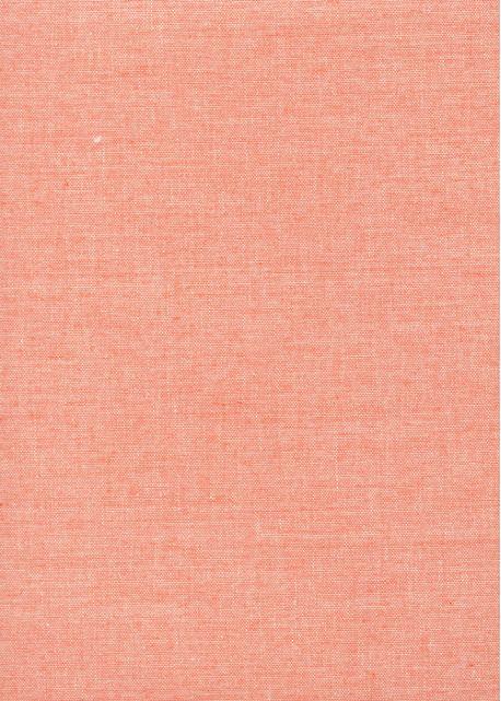 """""""Toile enduite"""" chinée corail (50x100)"""