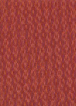 Niagara orange fond rouge (50x70)