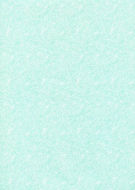Astrid menthe glacée (50x70)