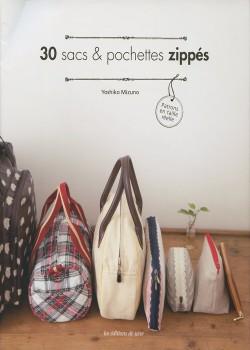 30 sacs & pochettes zippés
