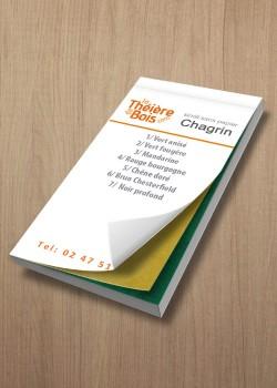 Nuancier Chagrin (12x6cm)