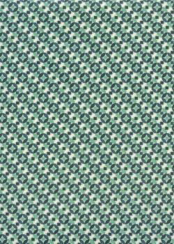 Les rosaces vertes et bleues (70x100)