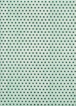 Les petites étoiles bleues sur fond rayé (70x100)