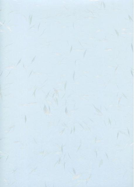 Véritable Tairei bleu flammé gris argent (78x53)