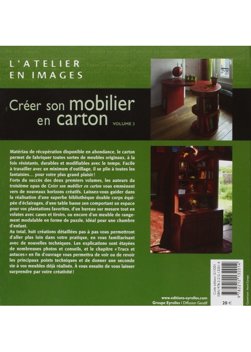 Cr er son mobilier en carton volume 3 la th i re de bois - Creer son meuble ...