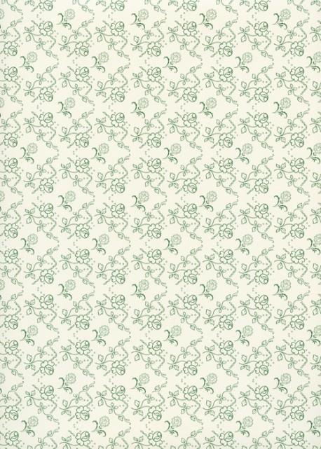 """""""Séville"""" vert (50x70)"""
