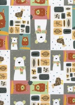 Le damier des animaux (70x100)