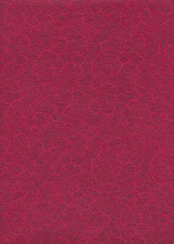 Crackly rouge et noir (50x70)
