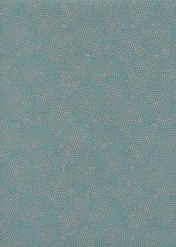 Drop menthe et corail (50x70)